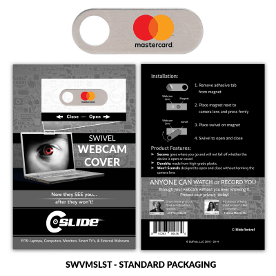Webcam Cover Swivel Metal + Standard Packaging