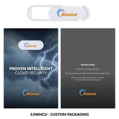 Webcam Cover 3.0 improved - White + Custom Packaging