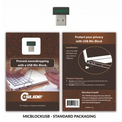 USB Mic Block + Standard Packaging