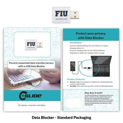 USB Data Blocker White + Standard Packaging