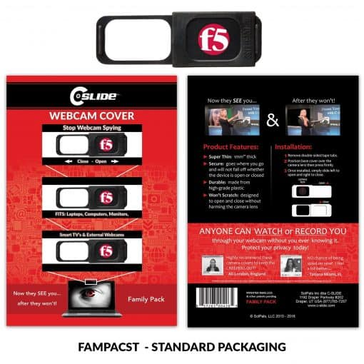 Family Pack 1.0 - Black with Standard Packaging