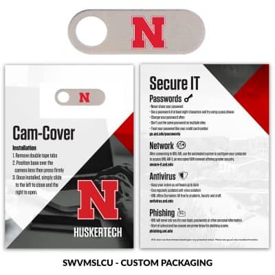 Webcam Cover Swivel Metal + Custom Packaging Packaging