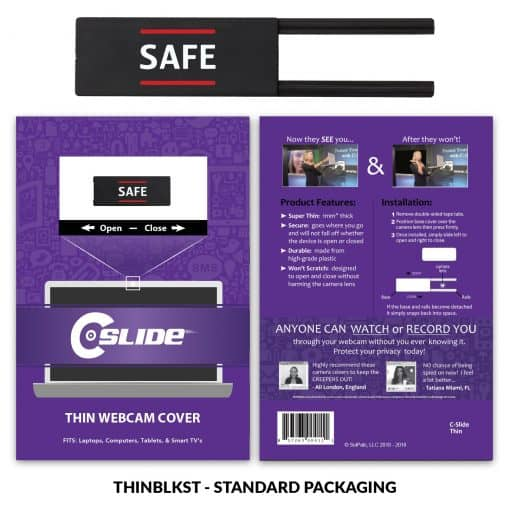 Webcam Cover Thin + Standard Packaging