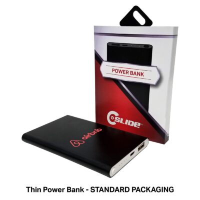 Thin Power Bank 4000mAh with Standard Packaging