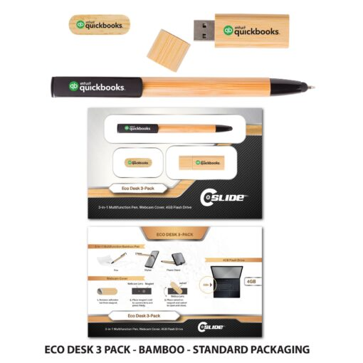 Eco-Desk 3 Pack with Standard Packaging